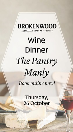 The Pantry Manly Dinner Ticket