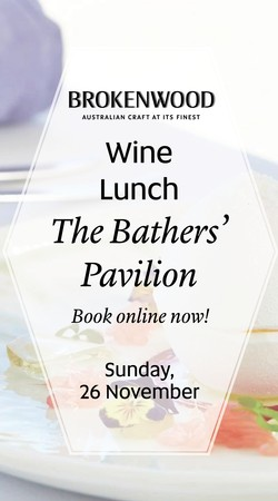 The Bather's Pavilion Lunch Ticket Nov 26