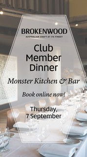 Monster Kitchen Dinner Ticket